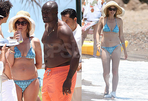 Pictures of Bikini-Clad Heidi Klum on Her Vow Renewal Vacation in Mexico With Shirtless Seal