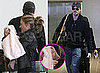 Pictures of Eric Dane and Rebecca Gayheart With Daughter Billie at LAX