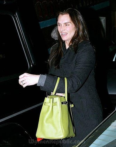 Brooke Shields Without makeup!!!!!!!!!!!