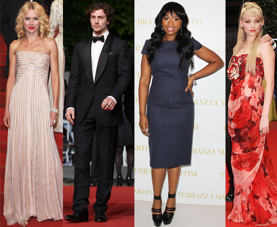 Pictures from the Red Carpet at the Cannes Film Festival 2010 Including Naomi Watts, Aaron Johnson, Imogen Poots, Hannah Murray, 2010-05-16 23:00:44