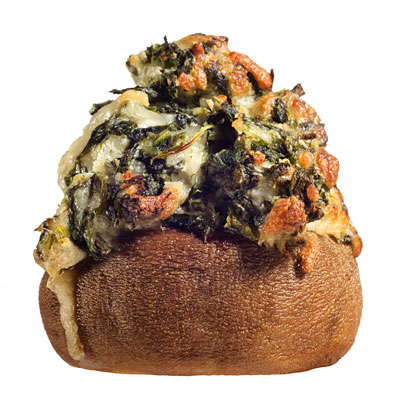 Creamed-Spinach-Stuffed Mushrooms