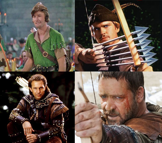 Who Is the Hottest Robin Hood?
