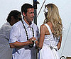 Slide Picture of Adam Sandler and Brooklyn Decker Filming Wedding Scene in Just Go With It