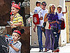 Pictures of Britney Spears, Sean Preston and Jayden James Spears Federline in LA