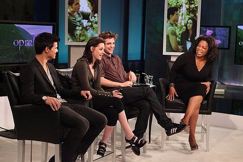 Picture of Robert Pattinson and Kristen Stewart on Oprah