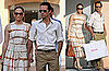 Pictures of Jennifer Lopez and Marc Anthony Shopping in St. Tropez