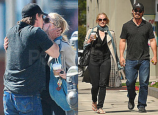 Pictures of Josh Brolin Kissing Marley Shelton