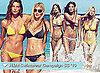 Photos of H&M Swimwear Ad Campaign Starring Lara Stone for Summer 2010