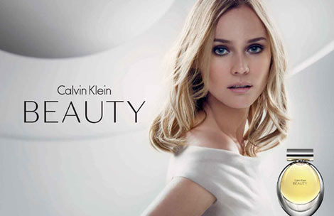 Diane Kruger for Calvin Klein Beauty Perfume