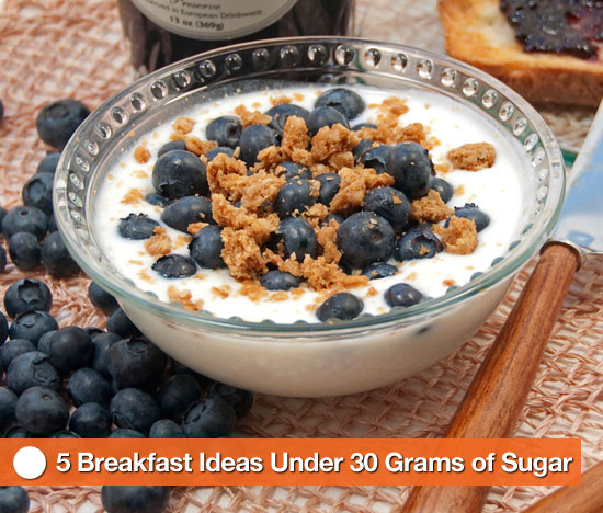Breakfast Ideas Under 30 Grams of Sugar