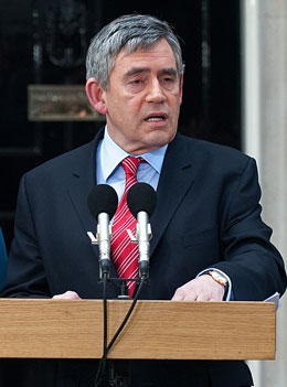 Pictures of Gordon Brown Who Has Resigned as Prime Minister and Labour Leader