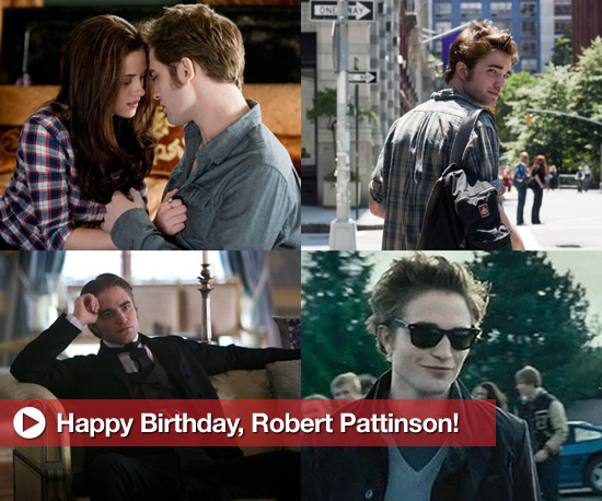 Happy Birthday, Robert Pattinson!