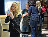 Pictures of Cameron Diaz Arriving at LAX