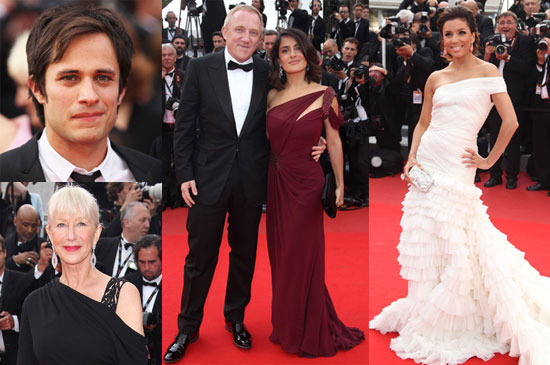 Pictures of Russell Crowe, Kate Beckinsale, Cate Blanchett, Tim Burton, Salma Hayek And Gael Garcia Bernal at Cannes 2010-05-12 16:30:00