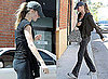 Pictures of Gisele Bundchen Leaving the Gym