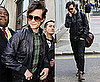 Pictures of Doctor Who Matt Smith in London