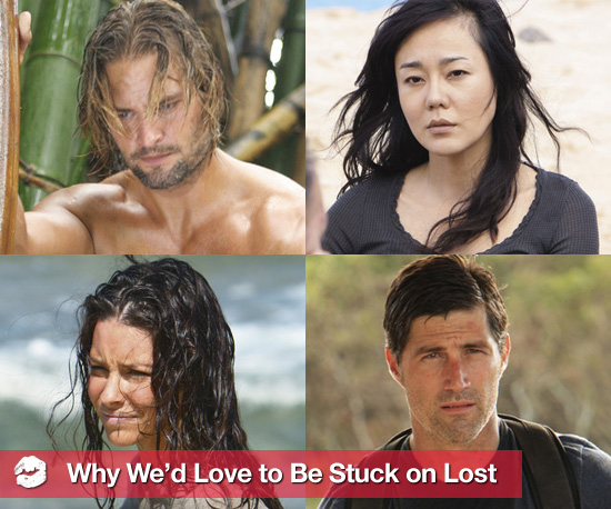 10 Reasons We'd Love to Be Stuck on Lost