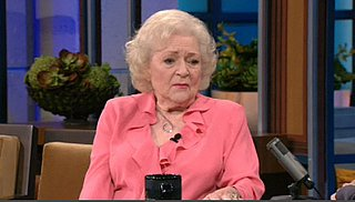 Video of Betty White Talking About Saturday Night Live With Jay Leno on The Tonight Show