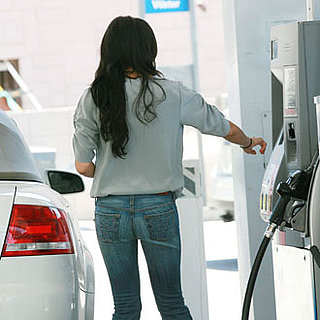 Guess Who's Pumping Gas in Tight Jeans?