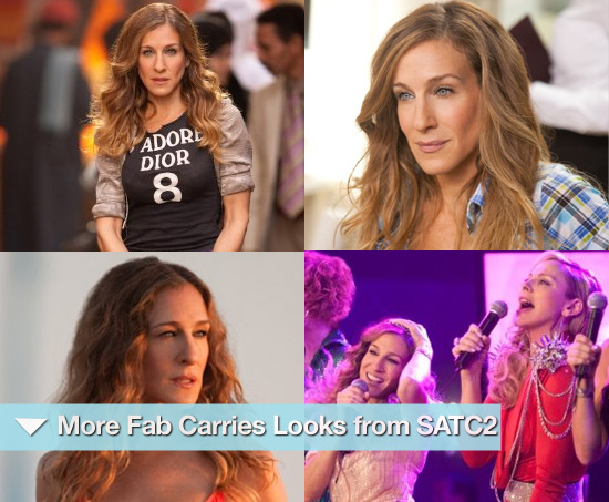 More Fab Carrie Looks from SATC2