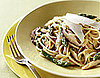 Recipe For Spaghetti With Asparagus, Shiitake Mushrooms, Lemon, and Chives