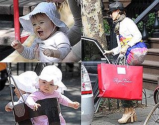Pictures of Sarah Jessica Parker Leaving Her Manhattan Home