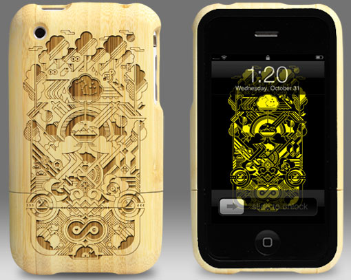 Photos of the Grove Artist Series Bamboo iPhone Cases