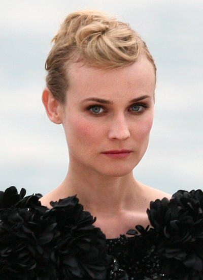 Diane Kruger at the Canal+ TV show Le Grand Journal