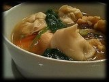 Wonton soup