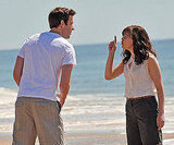Pictures of John Krasinski and Ginnifer Goodwin Filming Something Borrowed