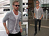 Pictures of Hot Ryan Gosling Getting Ready to Board a Flight to France for The Cannes Film Festival