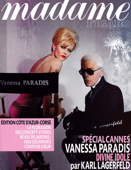 Vanessa and Karl Take Over Madame Figaro Magazine