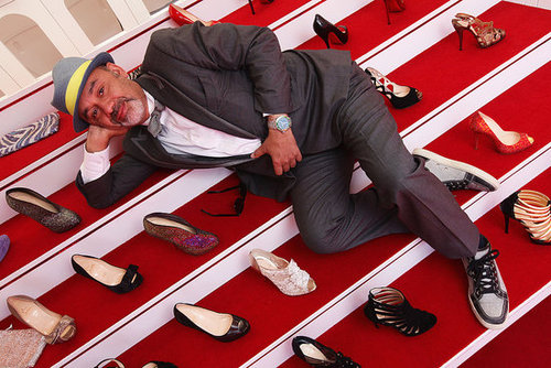 Christian Louboutin Shoe Show in Cannes