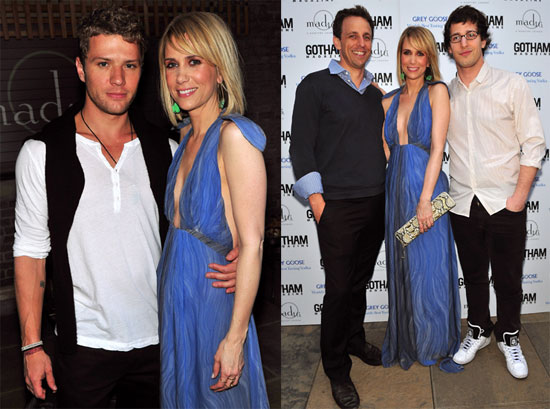 Pictures of Kristen Wiig, Andy Samberg, Seth Meyers and Ryan Phillippe at a Party in NYC
