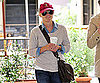 Slide Picture of Reese Witherspoon Getting Coffee in Brentwood