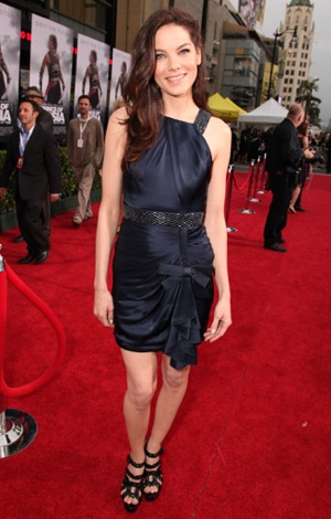 Michelle Monaghan Wears Andrew Gn at Prince of Persia Premiere