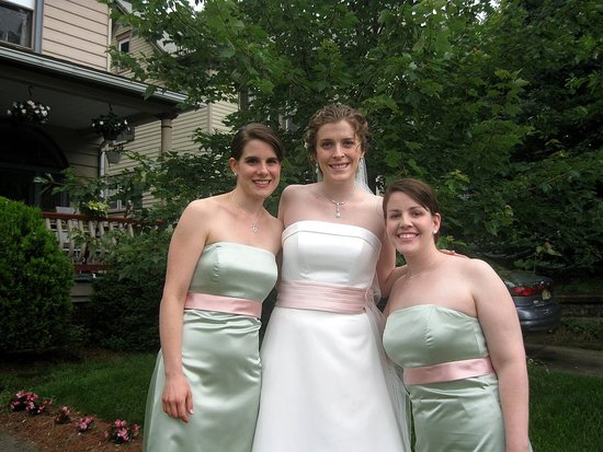 Me and two of my bridesmaids