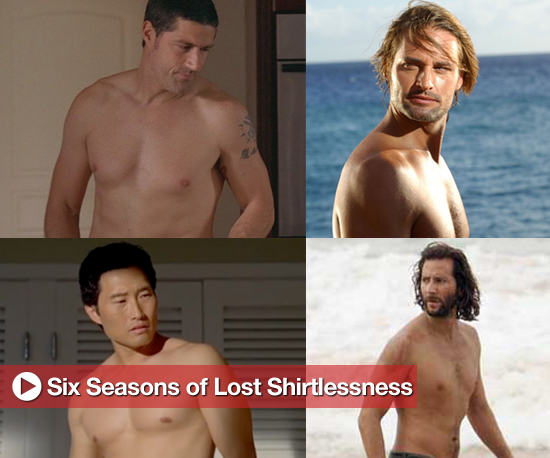 Shirtless Lost Actor Slideshow Including Sawyer, Jack, Sayid, Jin, and Desmond