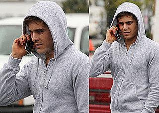 Pictures of Zac Efron on the Set of Charlie St. Cloud in Vancouver