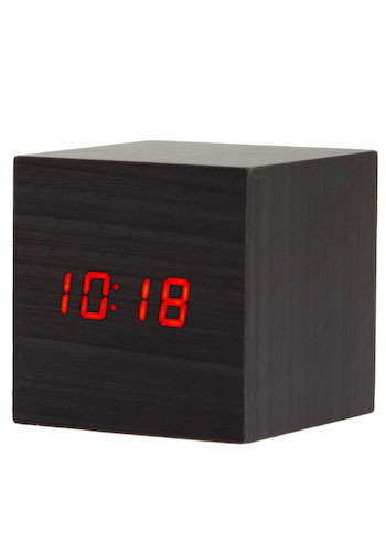 Photos of the Hold Your Applause Alarm Clock