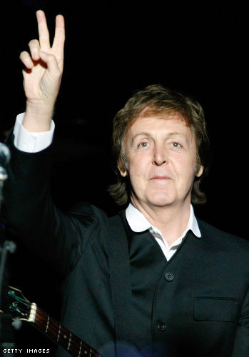 Sir Paul McCartney announces first ever webchat