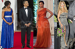 Photos of Eva Longoria, Beyonce Knowles, Barack And Michelle Obama, Felipe Calderon And Margarita Zavala at White House Dinner