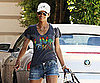 Slide Picture of Halle Berry in Shorts in LA
