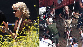 Pictures of Reese Witherspoon And Robert Pattinson Filming Water for Elephants