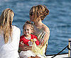 Slide Picture of Jennifer Lopez and Emme Anthony in Cannes