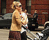 Slide Picture of Kate Hudson Pushing Stroller in New York