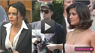 Video of Lindsay in Court, Rob's Workout, and Salma, Diane, and Penelope Close Cannes in Style 2010-05-24 14:30:00