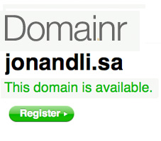 Find a Creative URL With Domainr