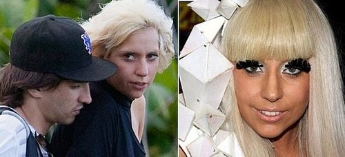 Lady Gaga Without Makeup!