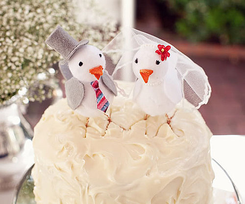 15 Unexpected Wedding Cake Toppers